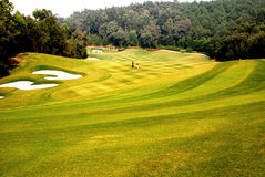 Golf course. A golf couse in Foshan,Guangdong,China Royalty Free Stock Images