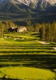 Golf Course. Land scape on green grass Stock Photos