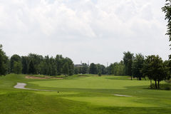 Golf Course. Boucherville, Quebec, Montreal Royalty Free Stock Image