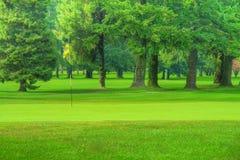 Golf Course. Green shot in HDR stock photos