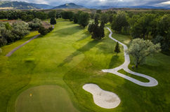 Golf Course Aerial Stock Photos