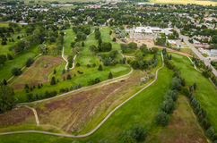Golf Course Aerial Stock Images