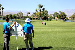 Golf course at the ANA inspiration golf tournament 2015 Stock Photo