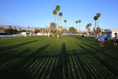 Golf course at the ANA inspiration golf tournament 2015 Royalty Free Stock Images