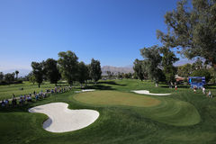 Golf course at the ANA inspiration golf tournament 2015 Royalty Free Stock Photos