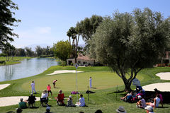 Golf course at the ANA inspiration golf tournament 2015 Stock Photography