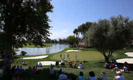 Golf course at the ANA inspiration golf tournament 2015 Stock Image