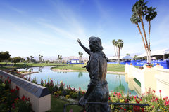 Golf course at the ANA inspiration golf tournament 2015 Royalty Free Stock Image
