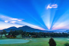 Golf Course in Bali Stock Images