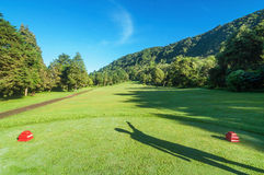 Golf Course in Bali Royalty Free Stock Image