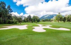 Golf Course in Bali Stock Photos