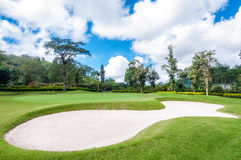 Golf Course in Bali Royalty Free Stock Images