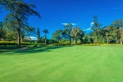 Golf Course in Bali Royalty Free Stock Photos