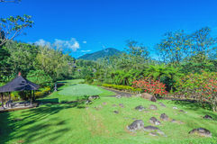 Golf Course in Bali Stock Photo