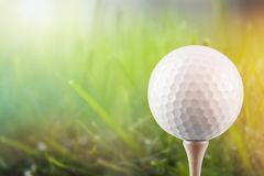 Golf. Course ball activity challenge club competition stock photo