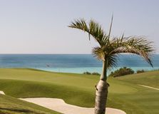 Golf Course in Bermuda Stock Photo