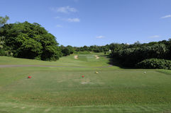Golf Course in Bermuda Royalty Free Stock Image