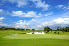 Golf course Royalty Free Stock Photo