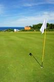 Golf course on Bornholm island Royalty Free Stock Photography