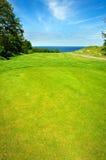 Golf course on Bornholm island Royalty Free Stock Photos
