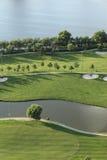 The golf course Royalty Free Stock Photos