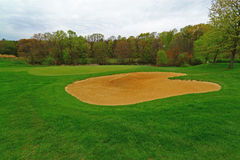 Golf Course Bunker Stock Images