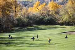 Golf course in Canada Royalty Free Stock Photo