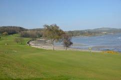 Golf Course at Coast Stock Photos