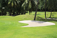 Golf course at the Constance Lemuria Resort Stock Image