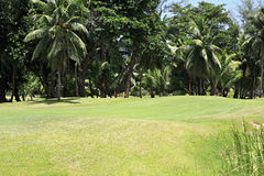 Golf course at the Constance Lemuria Resort Royalty Free Stock Photo