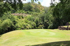 Golf course at the Constance Lemuria Resort Stock Photos
