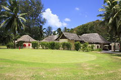 Golf course at the Constance Lemuria Resort Royalty Free Stock Photography