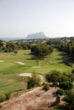 Golf course on the Costa Blanca Stock Photography