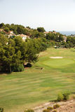 Golf course on the Costa Blanca Stock Images