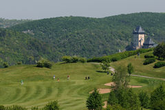 Golf course - Czech Republic Royalty Free Stock Photos