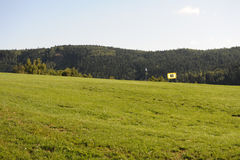Golf course - Czech Republic Royalty Free Stock Image