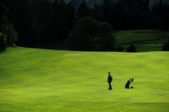 Golf course - Czech Republic royalty free stock photography