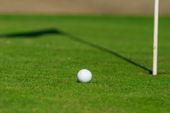 Golf course detail Royalty Free Stock Photos