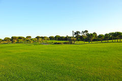 The golf course, El Rompido, Andalusia, Spain Stock Photo