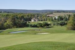 Golf course fairwary stock photography