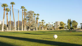Golf Course Field Stock Photography