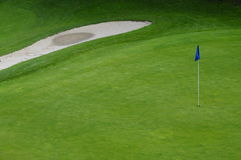 Golf course in France Royalty Free Stock Photography