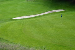 Golf course in France Stock Photography