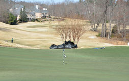 Golf course, Georgia Stock Photo