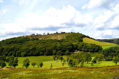 Golf course in Glossop. Derbyshire, England UK Royalty Free Stock Photo