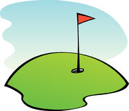 Golf, Course, Golfing, Lawn, Grass Stock Photo