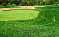 Free Golf Course Green Royalty Free Stock Images - 53596899