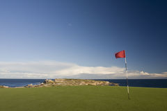Golf Course Green in Botany Bay National Park Royalty Free Stock Photo