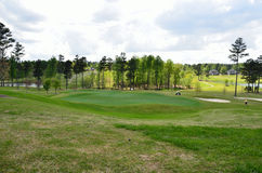 Golf course and green Stock Image