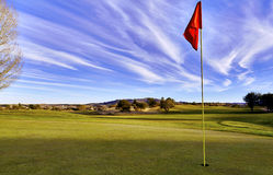 Golf Course Green Royalty Free Stock Images